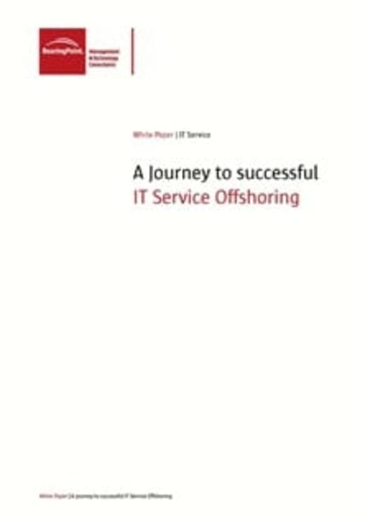 A Journey to successful IT Service Offshoring