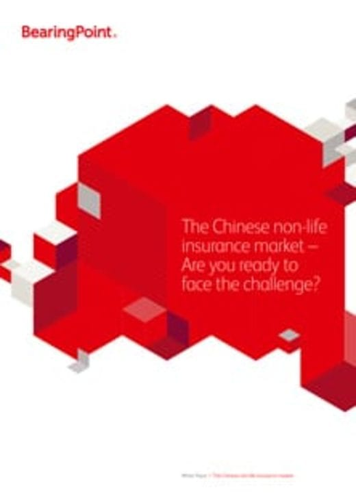 The Chinese non-life insurance market – Are you ready to face the challenge?