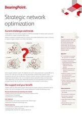 Strategic network optimization