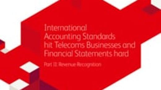 International Accounting Standards hit Telecoms Businesses and Financial Statements hard