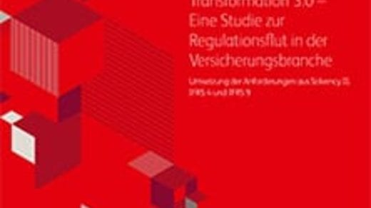Finance Transformation 3.0 – Eine Studie zur Regulationsflut in der Versicherungsbranche