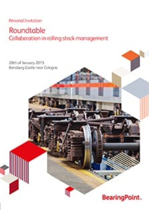 "Roundtable ""collaboration in rolling stock management"""