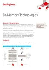 Fact Sheet - In-Memory Technologies