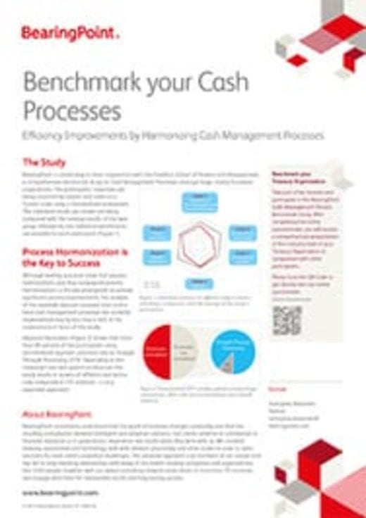 Fact Sheet - Benchmark your Cash Processes