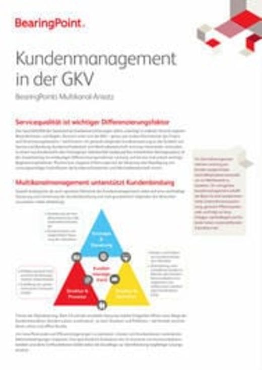 Kundenmanagement in der GKV