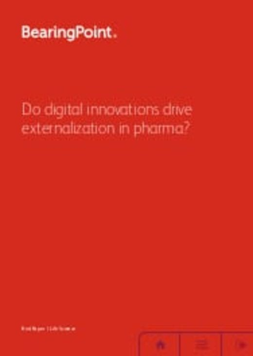 Do digital innovations drive externalization in pharma?