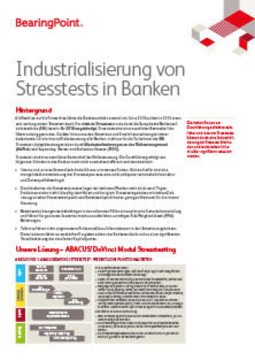 Fact Sheet Stresstesting