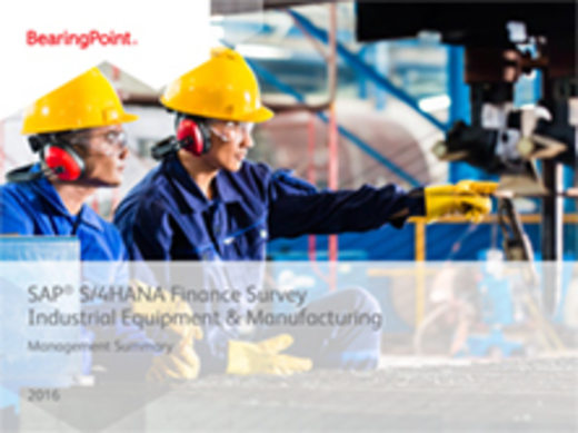 SAP S/4 HANA_Finance_Industrial