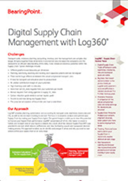 Digital Supply Chain Management with Log360°
