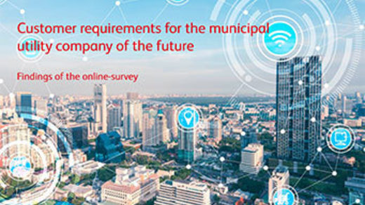 "Study ""Customer requirements for the municipal utility company of the future"""