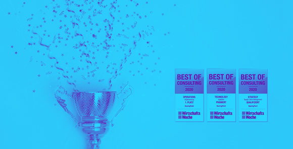 """Best of Consulting""-Awards: Hattrick für BearingPoint"