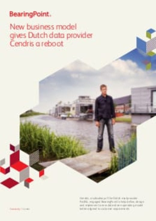 New business model gives Dutch data provider Cendris a reboot