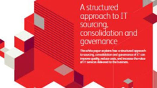 A structured approach to IT sourcing, consolidation and governance