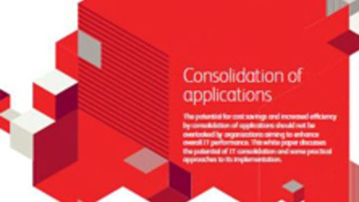 Consolidation of applications