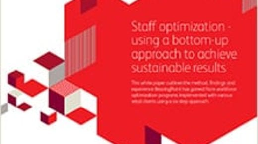 Staff optimization – using a bottom-up approach to achieve sustainable results