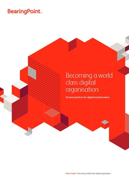 Becoming a World Class Digital Organisation