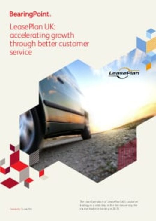 LeasePlan UK: accelerating growth through better customer service