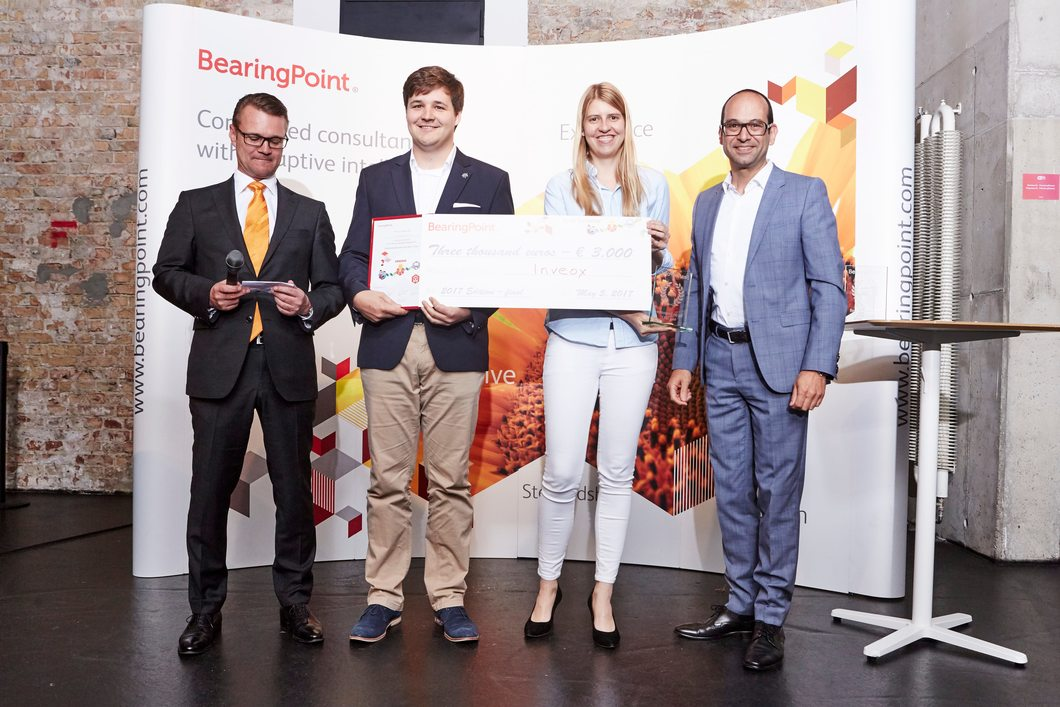 2nd prize: Team Inveox, Germany - Be an Innovator