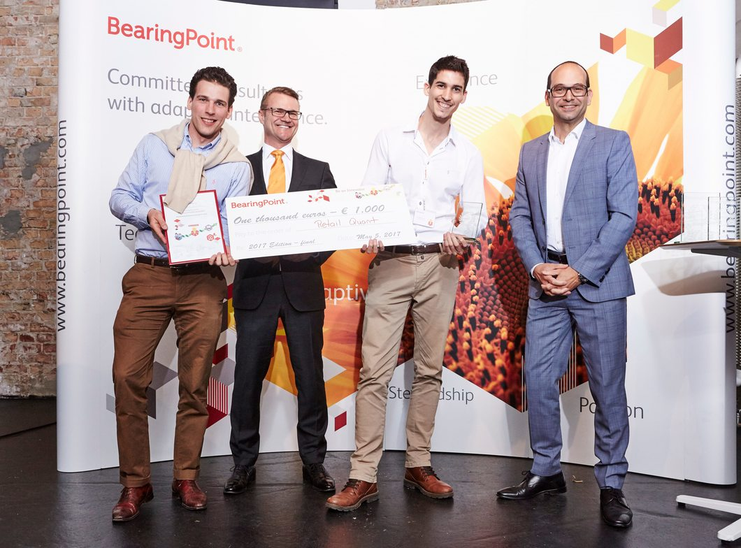 3rd prize: Team RetailQuant, Germany - Be an Innovator