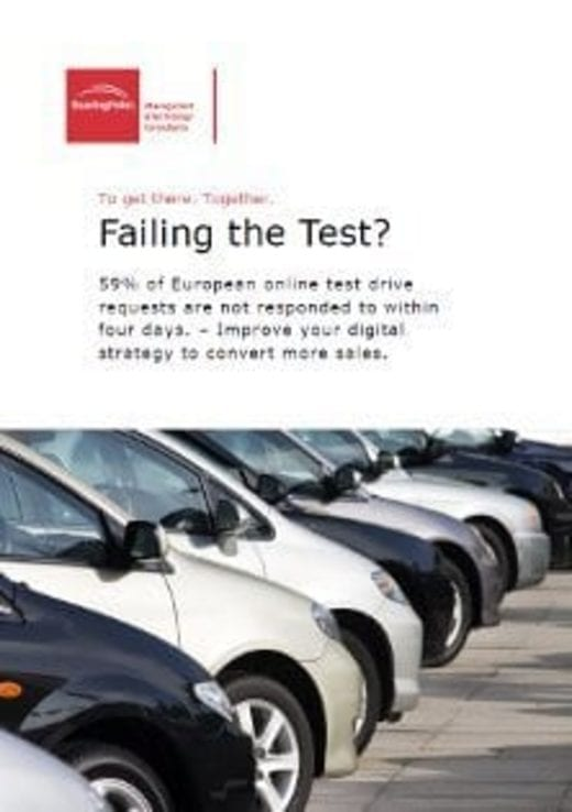 """Failing the Test?"" point of view"