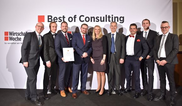 "Best of Consulting 2019 - ""Exzellent"" in der Kategorie ""Marketing & Organisation"" mit Vodafone"