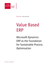 Value based ERP