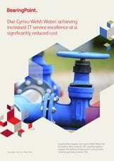 Dŵr Cymru Welsh Water: achieving increased IT service excellence at a significantly reduced cost