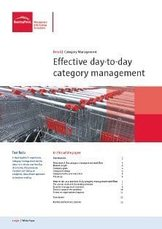 Effective day-to-day category management