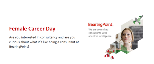 Female Career Day BearingPoint