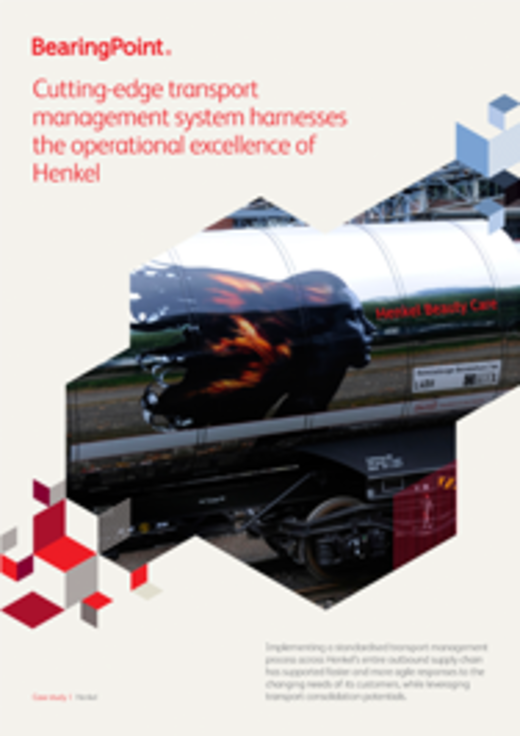 Cutting-edge Transport Management System for Henkel