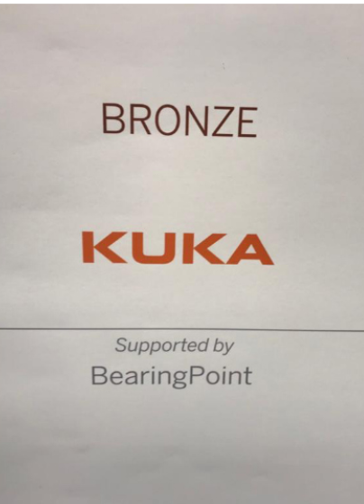 Kuka - Bronze Winner of SAP Quality Awards for 2018