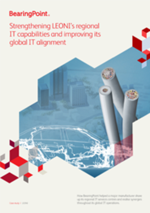 Strengthening LEONI's IT Capabilities Regionally, Aligning IT Globally