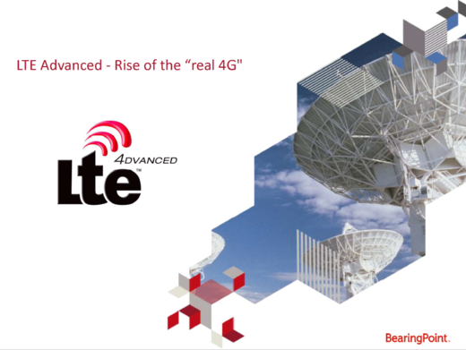 "LTE Advanced – Rise of the ""real 4G"""