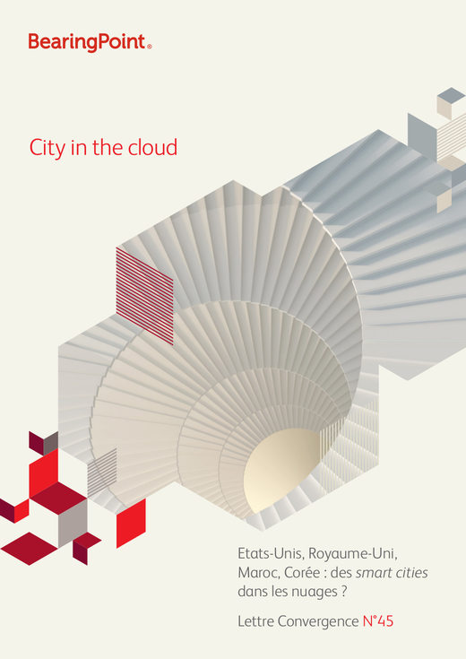 City in the cloud