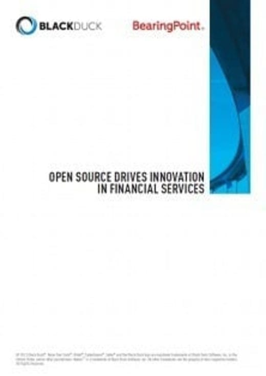 Open Source Drives Innovation In Financial Services