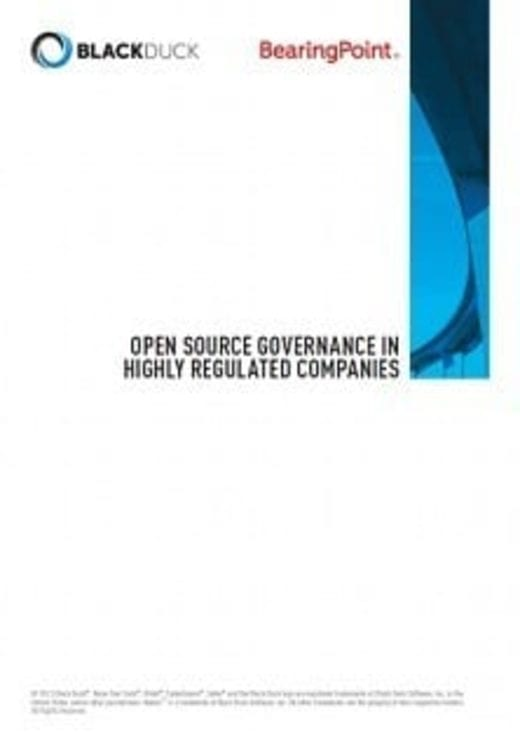Open Source Governance In Highly Regulated Companies