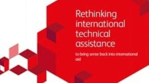Rethinking international technical assistance