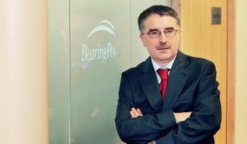 Peter Minogue, managing director of BearingPoint Ireland