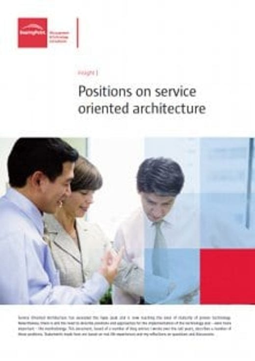 Positions on service oriented architecture