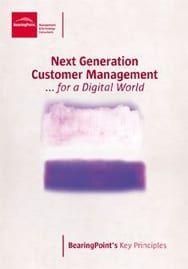 Next Generation Customer Management ... for a Digital World