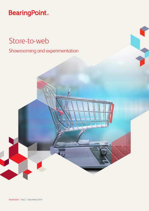 Store-to-web - Showrooming and experimentation