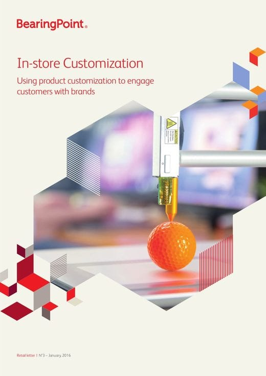 In-store Customization - Using product customization to engage customers with brands