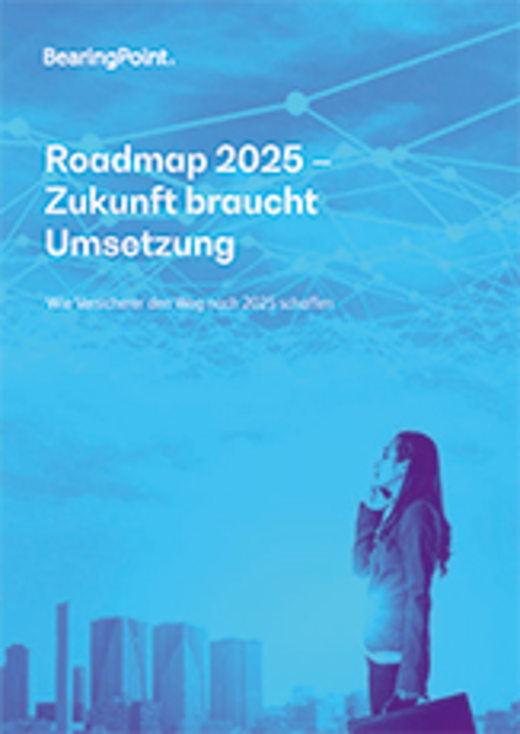 Roadmap 2025 Transformation bei Versicherungen