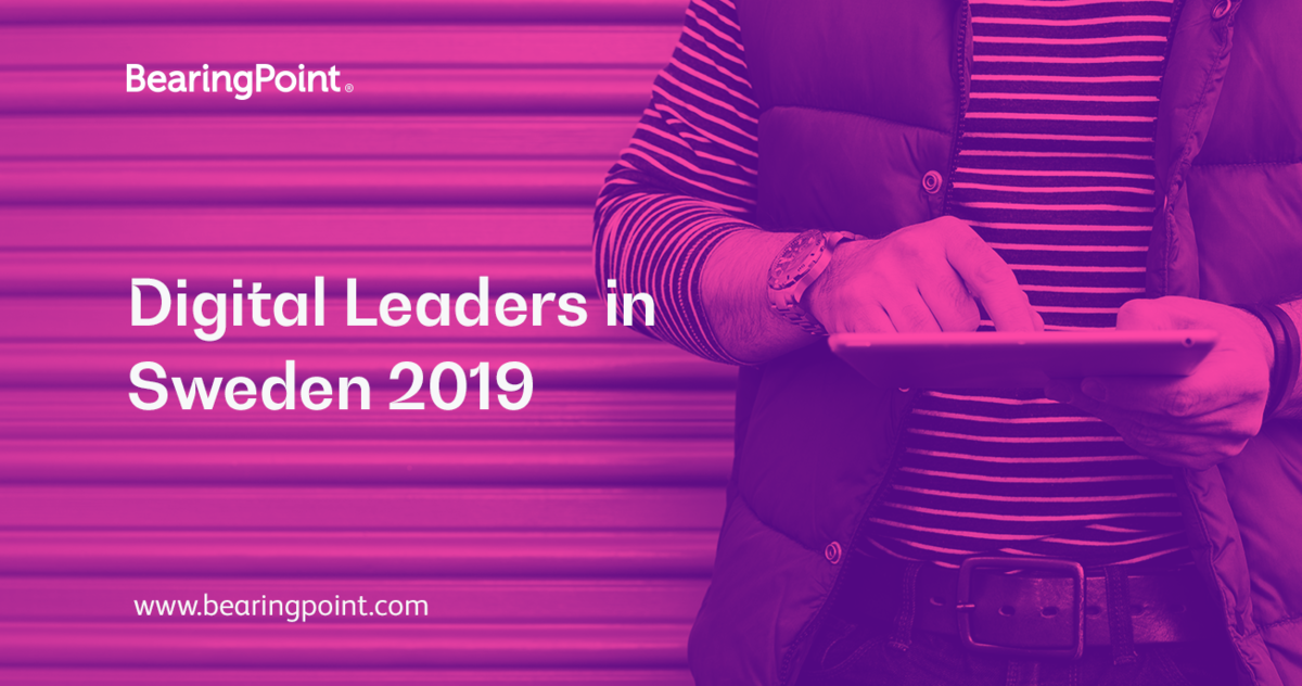 Digital Leaders in Sweden 2019 | BearingPoint Sweden