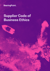 BearingPoint Supplier Code of Business Ethics