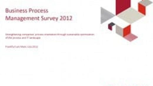 Business Process Management Survey 2012