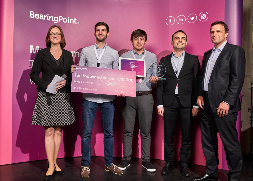 Winning team of Be an Innovator 2018