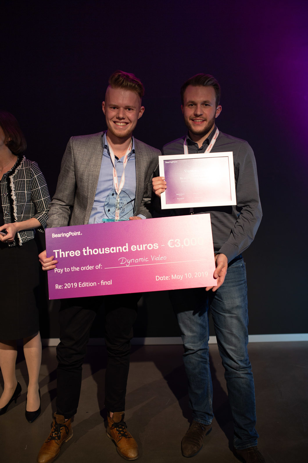 Second prize team Pave - Be an Innovator 2019