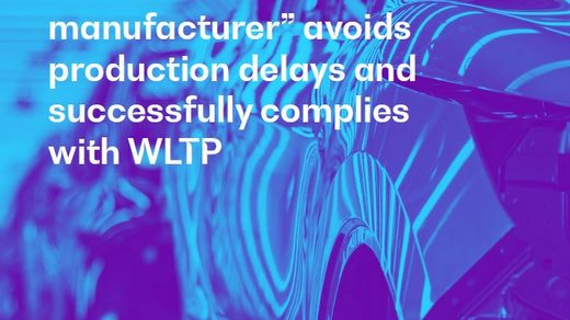 Global Automotive Manufacturer avoids production delays and successfully complies with WLTP