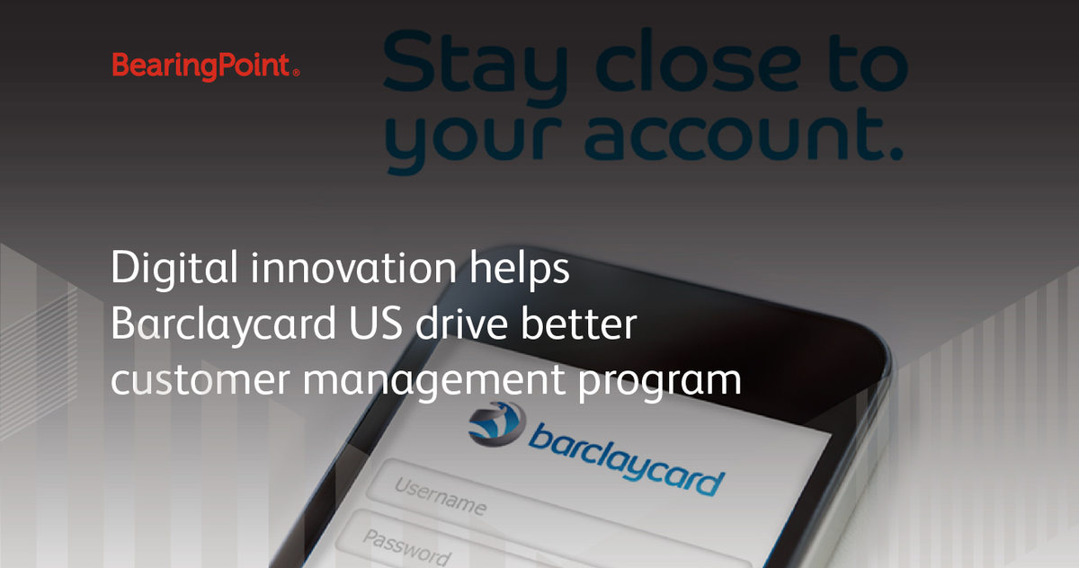 Digital innovation helps Barclaycard US drive better customer ...